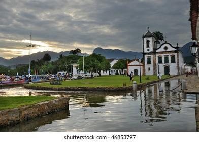 Capela de Santa Rita, Paraty, Rio de Janeiro, Brasil