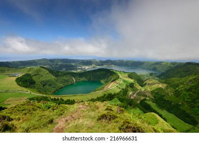 Capelas is a village on the island of Sao Miguel, in the Azores, a holiday destination for tourists