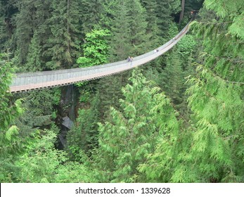 Capilano Bridge in Vancouver