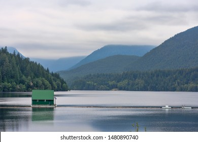 Capilano Lake. North Vancouver, British Columbia, Canada