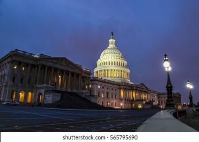 Capital Building at Twilight