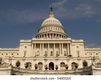 Capital Building in Washington DC