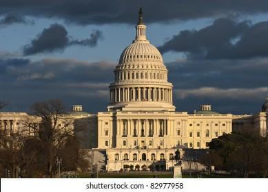 Capital Building in Washington, DC