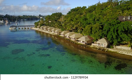 Capital city of Vanuatu - Port Vila, Vacation, Holiday Pacific ocean, Island, Bungalow