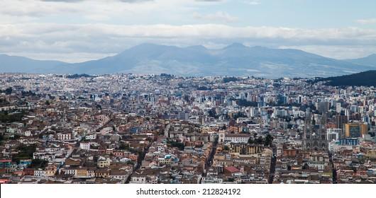 The capital of Ecuador, the northwest region of North America.