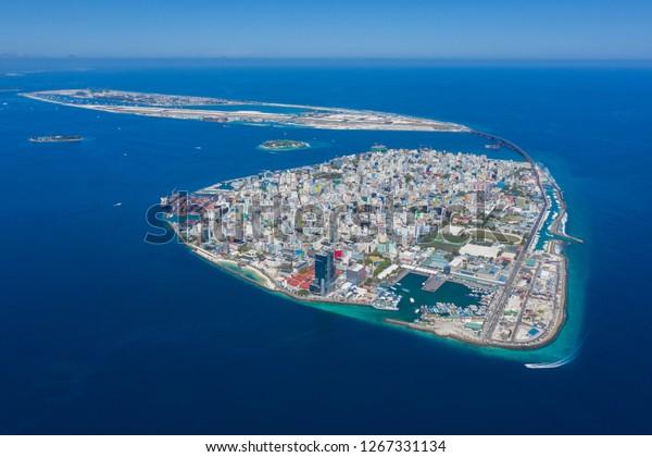Capital Island Maldives Male City Stock Photo Edit Now