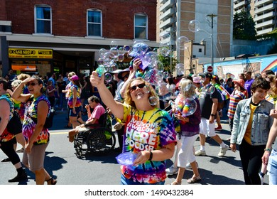 Capital Pride Parade in Ottawa, 25 August 2019