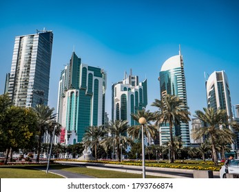 Capital town of Qatar. Doha has amazing skyscrapers, vibe and cultural diversity, highy recommended to visit this mesmering region.