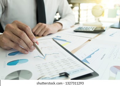The capitalist company is checking the company's financial account to prepare for approval of the money. To prepare to expand the company to Asia