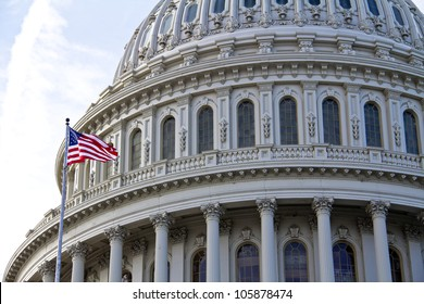 Capitol Building - detail, US, Washington DC, United States of America