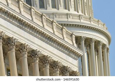 Capitol Building dome architectural details