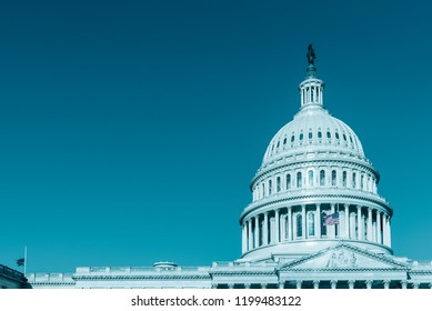 Capitol Building - Dome , modern style Washington DC