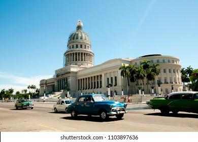 Capitol Building - Old Havana - Cuba
