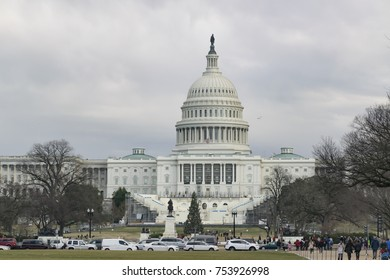 Capitol building of U.S.