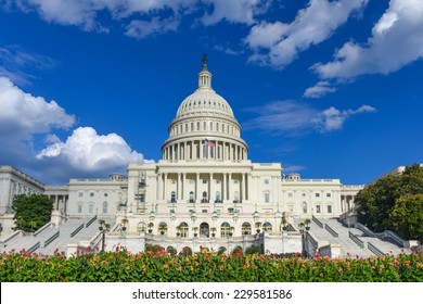 Capitol Building in Washington DC - United States of America