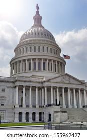 Capitol Building in Washington, DC, USA.
