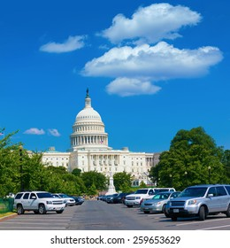 Capitol building Washington DC USA Pennsylvania Avenue