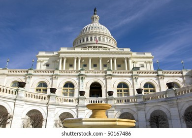 The Capitol Building in Washington DC, USA.