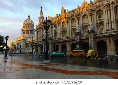 Das Kapitol in Havanna, Kuba