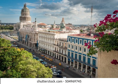 The Capitol in La Habana Vieja, Cuba, Caribe