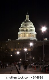 Capitol at night (Washington DC)