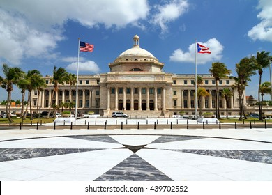 The Capitol of Puerto Rico (Capitolio de Puerto Rico) in San Juan, Puerto Rico