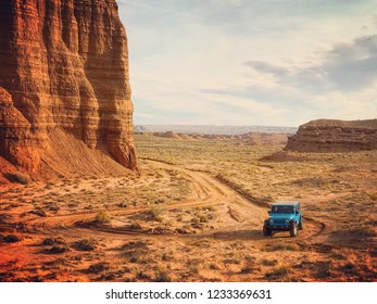 Capitol Reef National Park in Utah, USA