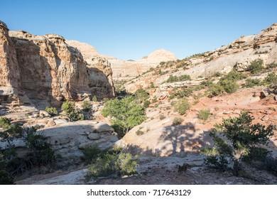 Capitol Reef National Park in Utah.