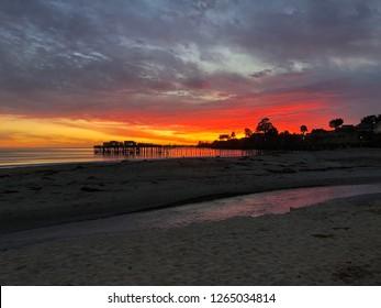 Capitola Beach Sunset