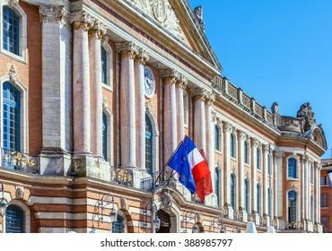Capitole de Toulouse, France