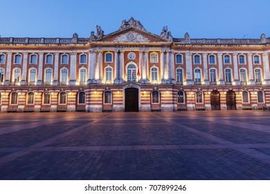 Capitole de Toulouse. Toulouse, Occitanie, France.