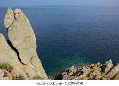 Capo d'Enfola, Elba island, Tuscany, Italy