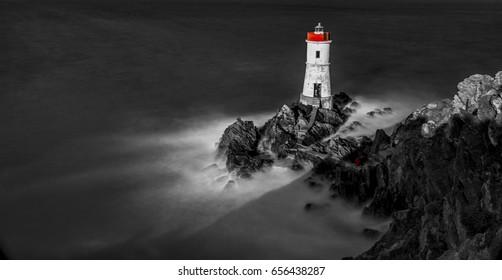 Capo Ferro lighthouse - Sardinia