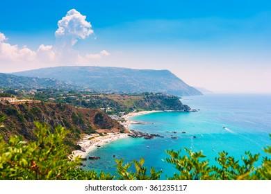 Capo Vaticano, Calabria, Italy. Grotticelle beach.