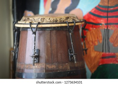 A Capoeira Drum  is a tall, wooden, Afro-Brazilian hand drum. The shell is made traditionally of Jacaranda wood from Brazil. The head is traditionally made from calfskin.