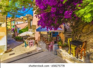 Capoliveri village, Elba island, Tuscany.