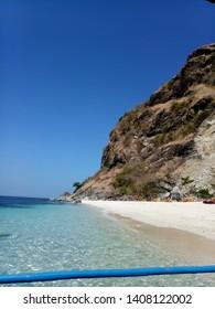 Capones Island at Zambales, Philippines