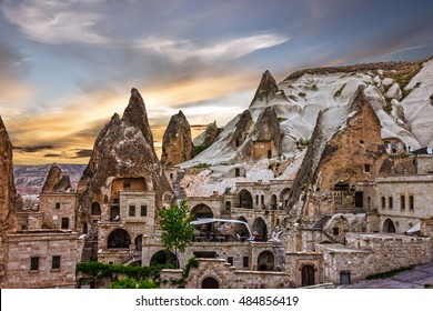 Cappadocia, Anatolia, Turkey. Open air museum, Goreme national park.