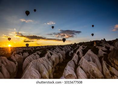Cappadocia Balloon Tour at Sunrise
