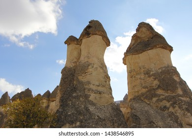 Cappadocia lies in central Anatolia, in the heartland of what is now Turkey. The relief consists of a high plateau over 1000 m in altitude that is pierced by volcanic peaks, with Mount Erciyes.