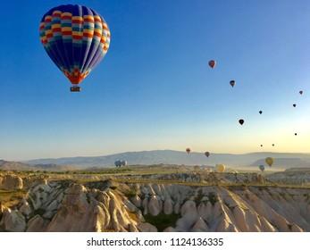 cappadocia turkey hotairballoon