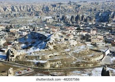 A Cappadocia Winter Landscape