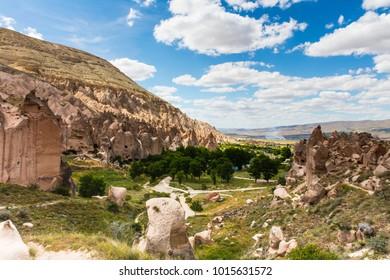Cappadocia Zelve Valley Summer Clear Sky