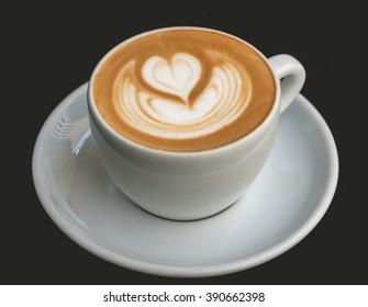Cappuccino art : heart