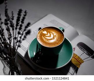 Cappuccino, coffee, Coffee shop, coffee art, barista,