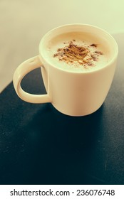 cappuccino cup - vintage effect style pictures