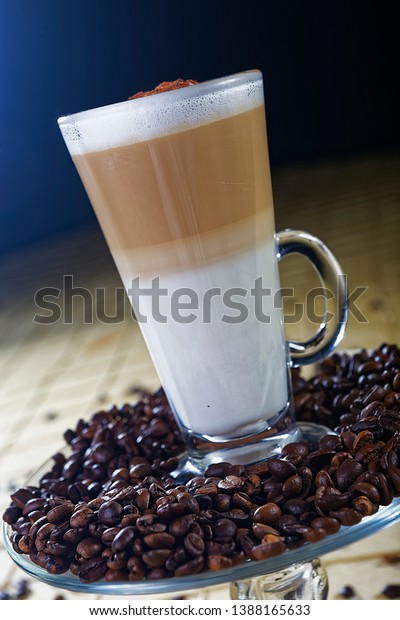 Cappuccino Espresso Based Coffee Drink That Stock Image