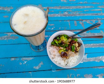 The Cappuchino Ice and Rice bowl