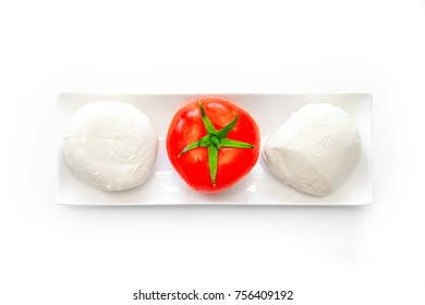 Caprese Mozzarella Tomato And Basil