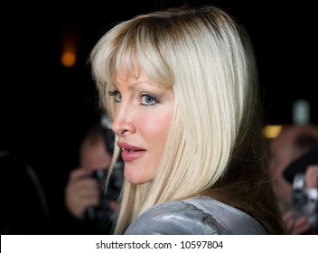 Caprice Bourret arrives at the press night for Desperately Seeking Susan showing at The Novello Theatre, The Aldwych, London on the 15th Nov 2007